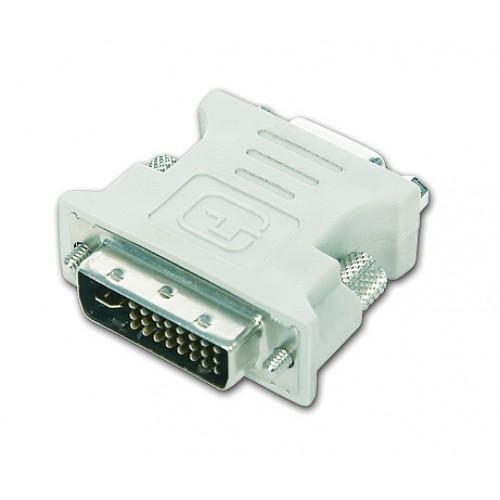 Adaptor DVI 24-pin tata la VGA 15-pin mama Gembird, A-DVI-VGA