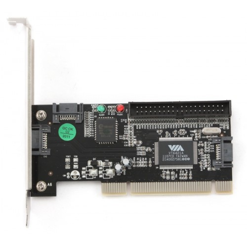 Adaptor PCI 3x SATA + 1x IDE, Gembird SATA-3