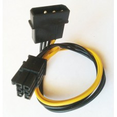 Cablu alimentare placa video 6pin la Molex (IDE) 4pin