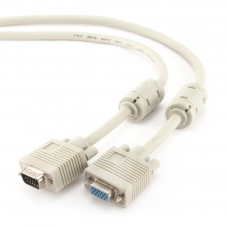 Cablu prelungitor VGA t - VGA m 1.8m dubluecranat Gembird CC-PPVGAX-6