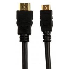 Cablu HDMI la mini HDMI 1.5m Sinox CTV7882, placat cu aur