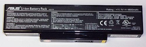 Baterie acumulator Asus A9 / F3 / M51 / X53S, 11.1V 4800mAh, A32-F3