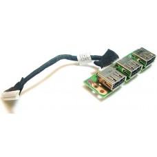 Porturi USB pentru Acer Extensa 5220/5620, TravelMate 7520, 48.4T302.011