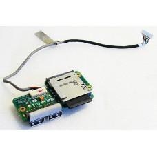 Port USB + cardreader pentru Asus K51 / K61IC / K70 / X5EAC / X70