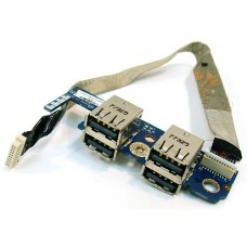 Porturi USB pentru Toshiba Satellite P200 / P205, LS-3831P