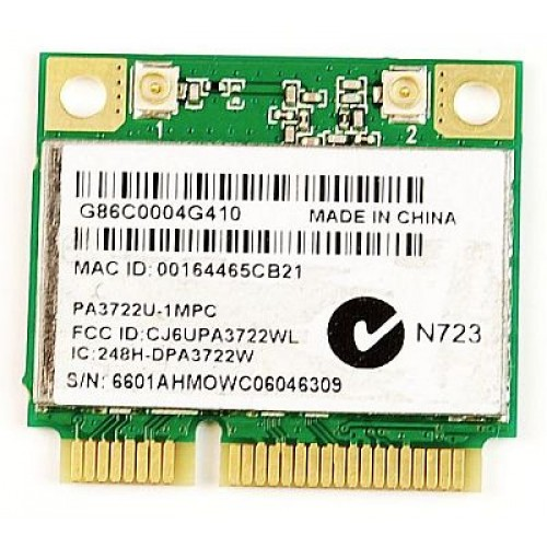 Placa wireless N de laptop Atheros AR5B95 mini PCI-E, PA3722U-1MPC