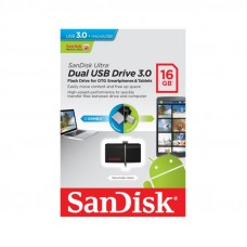 USB Flash Drive Sandisk Ultra Dual M3.0 16GB USB 3.0/Micro-USB 130MB/s
