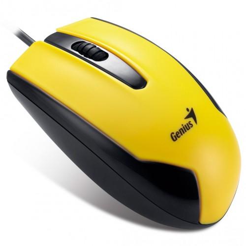 Mouse optic Genius DX-100 galben optic,USB