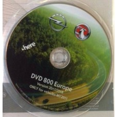Dvd harta navigatie GPS DVD800 Navi Opel Insignia Astra J Meriva B MY2011