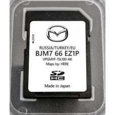 Card harti navigatie 2020 GPS Mazda cu 3 ani actualizare gratuita