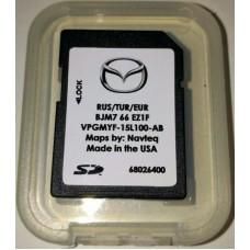 Card harti navigatie GPS Mazda 2 3 6 CX-3 CX-4 CX-5 CX-7 CX-9 MX-5 RF