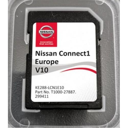 Card harti navigatie 2019 GPS LCN1 Nissan Qashqai Juke Note Micra Cube
