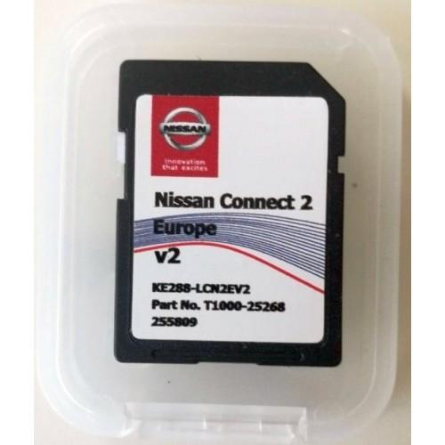 Card harti navigatie 2019 GPS LCN2 Nissan Note Juke Leaf Micra E-NV200