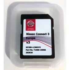 Card harti navigatie LCN3 Nissan Micra Note Pulsar Juke X-trail Navara Qashqai Tiida