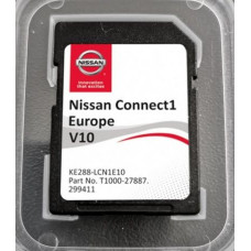 Card harti navigatie 2020 GPS LCN1 Nissan Qashqai Juke Note Micra Cube