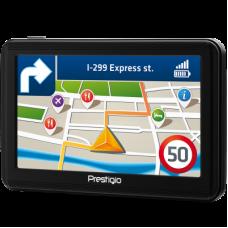 Navigatie GPS autoturisme camioane Prestigio GeoVision cu Parasolar si Folie