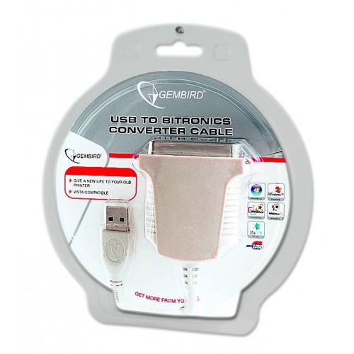 Cablu adaptor USB-paralel Gembird CUM360