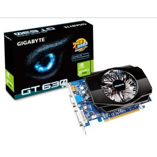 Placa video Gigabyte GeForce GT630 2GB DDR3 128bit, GV-N630-2GI