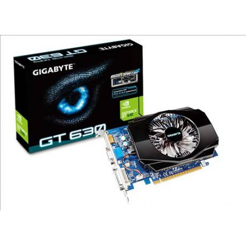 Placa video Gigabyte GeForce GT630 1GB DDR3, GV-N630-1GI