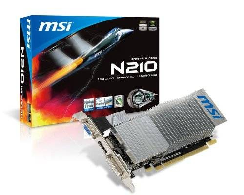 Placa video MSI nVidia GeForce GT210 1GB N210-MD1GD3H