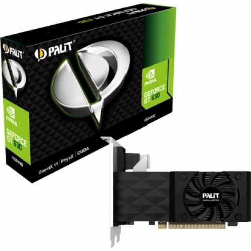 Placa video Palit GeForce GT630 1GB DDR3 128bit, NEAT630NHD01-1085F