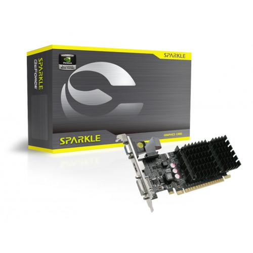 Placa video Sparkle GeForce 210 1GB DDR3 SX210L1024HCPB