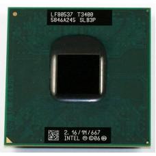 Procesor Intel Pentium DualCore Mobile T3400 2.16GHz, SLB3P