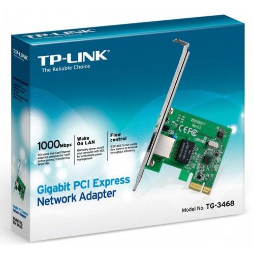 Placa de retea Gigabit PCI-Express TP-LINK TG-3468