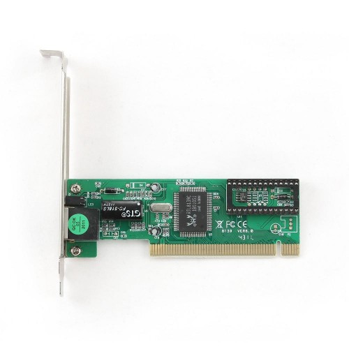 Placa de retea Gembird NIC-R1, PCI 10/100Mbps