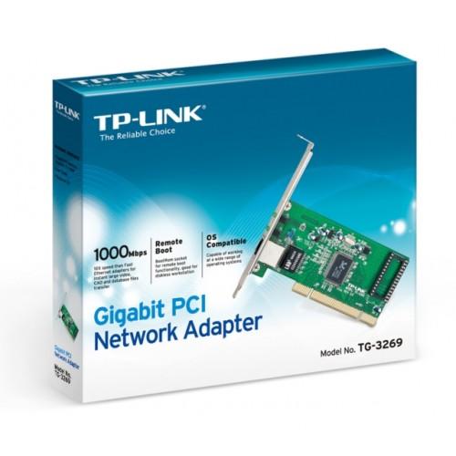 Placa de retea Gigabit TP-LINK TG-3269 PCI 10/100/1000Mbps