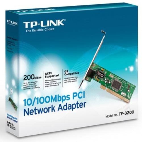 Placa de retea TP-LINK TF-3200, PCI 10/100Mbps
