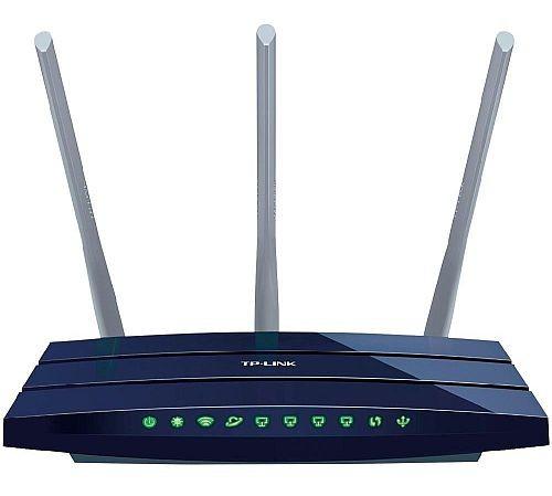 Router gigabit TP-Link TL-WR1043ND, USB, 3 antene detasabile