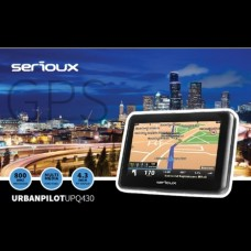 Sistem de navigație GPS Serioux UrbanPilot UPQ430, diagonala 4.3 inch, fără hartă
