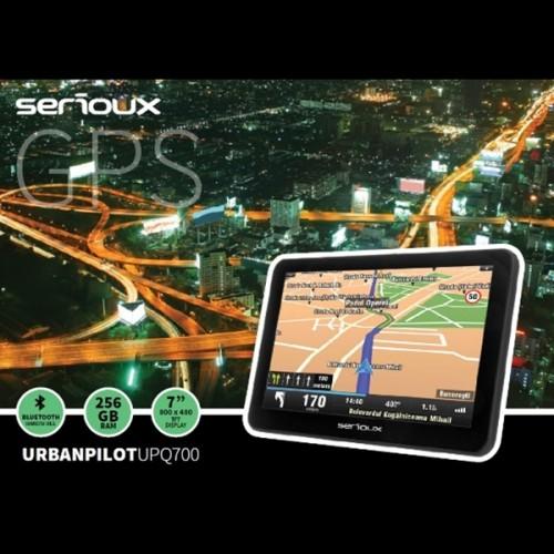 Sistem de navigatie GPS pentru camioane Serioux UrbanPilot UPQ700, diagonala 7 inch, fara harta