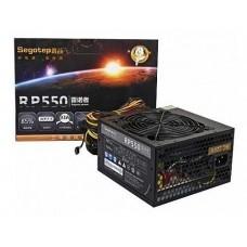 Sursă 550W Segotep Raynor RP550, 85%, ventilator 120mm, SG-550