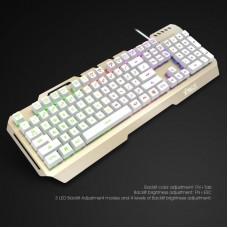 Kit Tastatura Mecanica iluminata + Mouse Gaming Havit Hiraliy X11