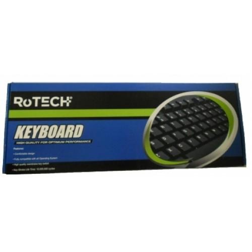 Tastatura standard Rotech JY-KB8000, PS2